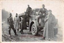 Engl. Beute LKW Bedford mit deutschen Soldaten