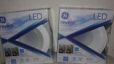 "2x new Ge Lighting 6"" Reveal 65-Watt Led Recessed Downlight Retrofit - 83572"