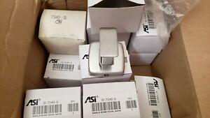 ASI American Specialties 7340 S Single Robe Hook Satin New