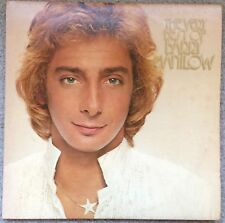 """BARRY MANILOW - The Very Best of - 12"""" DOUBLE ALBUM LP (Gatefold) 1980 VGC"""