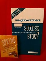 Weight Watchers SPRING CHARM AWARD NEW, UNOPENED. + SUCCESS STORY handout.