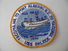 US NAVY PATCH USS ORLECK  (DD-886) / MARINE USA