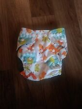Cute Bamboo Baby Cloth Diapers with Microfiber Inserts