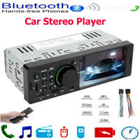 Single 1Din 4.1in WINCE Car Stereo MP5 Player FM Radio USB AUX RCA Bluetooth+RC