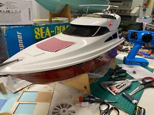 RC BOAT YACHT GRAUPNER SALINA TOP QUALITY