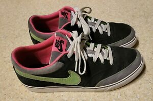 Nike SB Zoom Air Harbor Black Mean Green - Men's 10.5