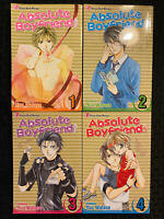 Absolute Boyfriend 1-4 Manga Viz Graphic Novel 1, 2, 3, 4 Shojo Beat Romance