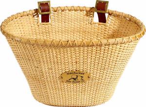 Nantucket Lightship Front Basket, Oval Shape Natural