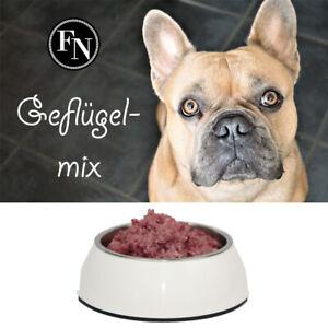 Geflügel Mix 15 kg, Barf, Hundefutter, Frostfleisch, Fertigbarf, Frostfutter