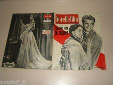 ROBERT WAGNER=DEBRA PAGET=MAGGIE MCNAMARA=COVER MAGAZINE 1955/389 NOVELLE FILM