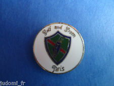 Pin's pin GOLF AND GREEN PARIS (ref L23)