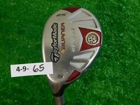 TaylorMade Burner Rescue 25* Left Hand 5 Hybrid REAX SuperFast 65 Stiff Graphite