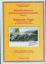 Gerlach/Birken Deutsche Kolonien und deutsche Kolonialpolitik Band 3 Kamerun/Tog