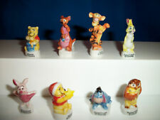 WINNIE the POOH Series 2 Set 8 Figurines French Porcelain FEVES Figures DISNEY