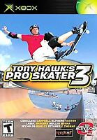 Tony Hawk's Pro Skater 3 (Microsoft Xbox, 2002) Complete  - Tested & Works Great