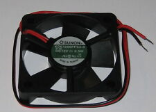 "Sunon 50 mm Quiet Cooling KDE Fan - 12 V DC - 7 CFM - 21 dB - KDE1205  11"" Leads"