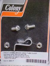Harley,Sportster,52-72,new front brake cable tube clamp kit