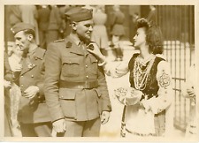 Mai 1940, fête franco-polonaise Vintage silver print Tirage argentique  13