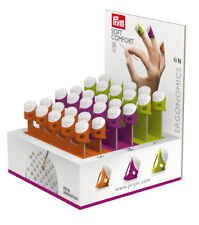 Prym Ergonomic Thimbles - Comfortable to Wear in Three Sizes - Small,Med & Large