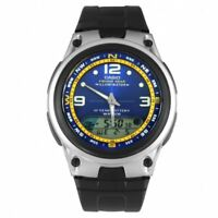 New Casio Fishing Gear Men's Chronograph Illuminator Automatic Watch AW-82-2AVDF