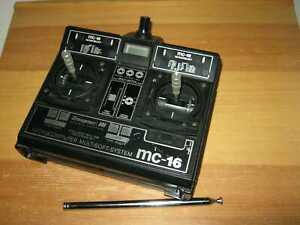 Graupner Sender MC 16  35 Mhz Computersender