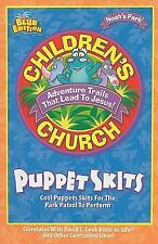 Noah's Park Children's Church Puppet Skits : Blue Edition by David C. Cook