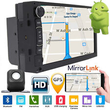 Double Din Android Car Stereo Radio GPS Navigation WiFi Quad-Core 7'' MP5 Player