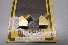 Bugpack 3025 Oil Fittings Pair