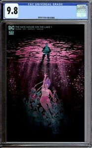 THE NICE HOUSE ON THE LAKE #1 CGC 9.8 Hutchinson-Cates cover 1500 made PREORDER