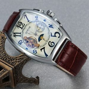 New Luxury Tourbillon Automatic Mechanical Wrist Watch Men