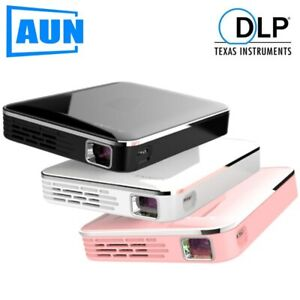 AUN MINI Projector X3, Built in Multimedia system Video Beamer, Support Mobile