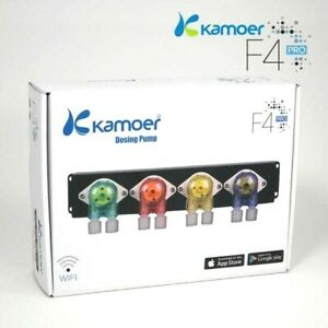 Kamoer F4 PRO Wifi Doser - 4 Channel Liquid Doser with Wifi Connectivity