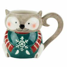 Boston Warehouse 18 Oz Grey Squirrel Mug