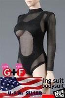 MCToys F-078 1/6 Swimming Suit Fishnet Bodysuit For 12'' Female Figure PHICEN
