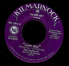 MFD IN CANADA 1972 FUNK SOUL 45 RPM GALT MACDERMOT SALOME BEY SINGING : HAPPY SO