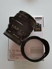 Sony E 10-18 mm F4 OSS Objectif Super-Grand Angle Zoom SEL1018