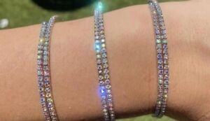 Paparazzi ~ Sleek Sparkle Multi OIL SPILL Coil  Bracelet ~💎PINK DIAMOND 2021💎