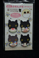 San-X Kutusita Nyanko Cat Memo Index Pads MM75211