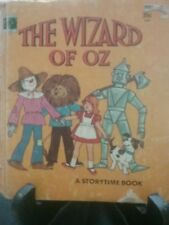 THE WIZARD OF OZ A Storytime Book Retold by Ann Hope H/C G/C