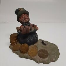 Authentic Collectiable Blarney Coin Leprachaun Statue