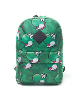 Nintendo - Yoshi Face Sublimation Print Backpack RUCKSACK Neu Top