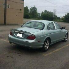 BMW M3 Style Trunk Lip Spoiler For Jaguar S-type 1998-2008 Sedan