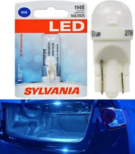 Sylvania Premium LED light 194 Blue One Bulb Interior Trunk Cargo Replace Stock