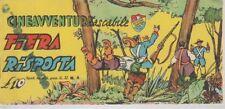STRISCIA CINEAVVENTURA TASCABILE 4 EDIZIONE FANTERA 1952