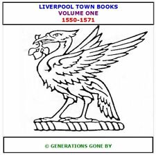 LIVERPOOL TOWN BOOKS 1550-1571 VOLUME ONE CD ROM