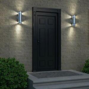 Artika C7 Stainless Steel Indoor/Outdoor Wall Light Vertical 3 Way Light Stream