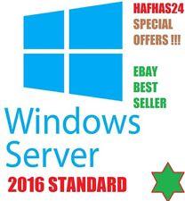 Windows Server 2016 Standard Latest License Sale & Download Full Product