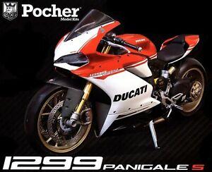 Rare 1/4 Kit Pocher Ducati 1299 Panigale S Anniversario Superbike  HK110