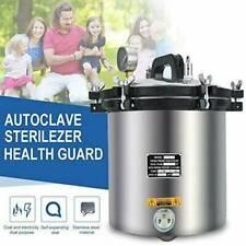 18l Steam Autoclave Sterilizer Dental Pressure Sterilization Stainless Steel