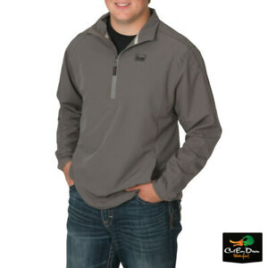 NEW BANDED CASUAL GEAR EARLY SEASON PULLOVER - 1/4 ZIP - BREATHABLE